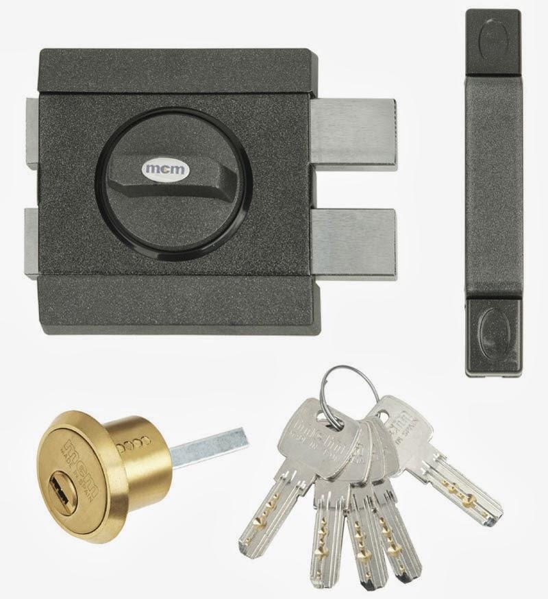 Marzua nuevo cerrojo de seguridad con llave interior y - Cerrojo de seguridad para puertas ...