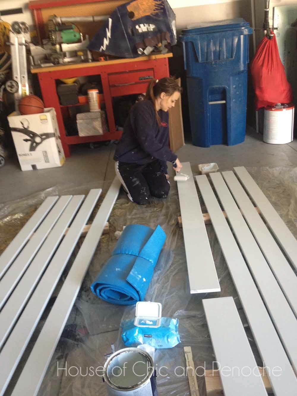 Part 1: DIY Wainscoting, Board and Batten in Entryway Foyer