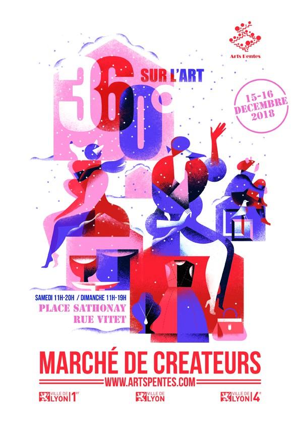 Marché de créateurs, 360 degrés sur l'Art