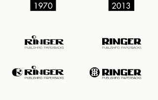 Curio & Co. - www.curioandco.com - Ringer Publishing Logo 1970 - 2013 - Frank and His Friend publisher - Designed by Cesare Asaro