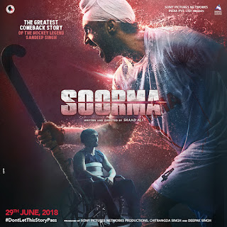 Soorma (2018) Hindi Movie BluRay | 720p | 480p