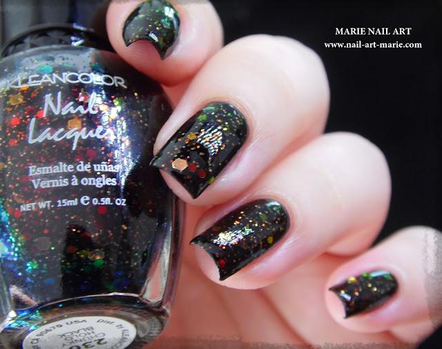 Kleancolor Chunky Holo Black2