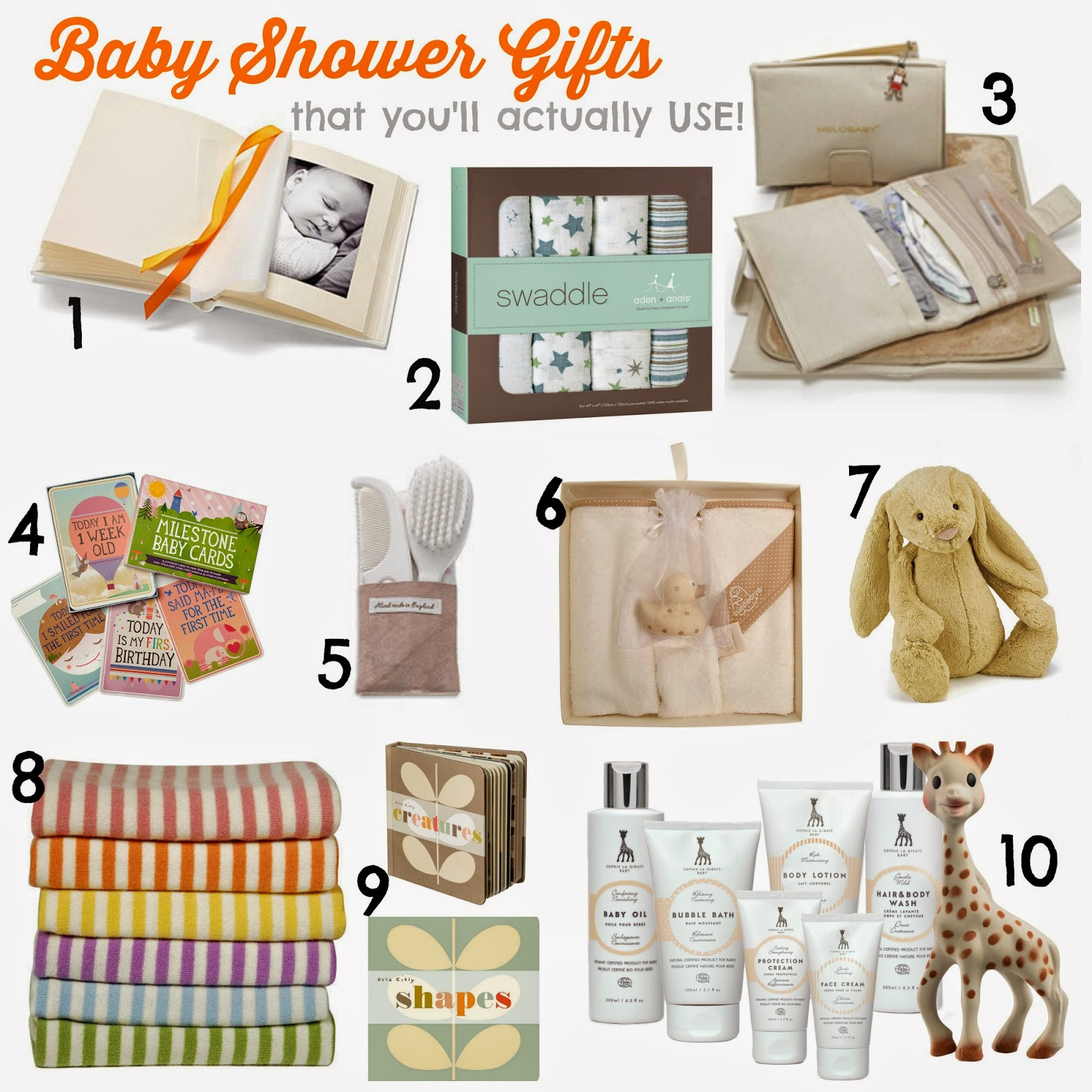 10 Baby Gifts That New Mums Will Love And ACTUALLY Use! | Baby Shower Gifts