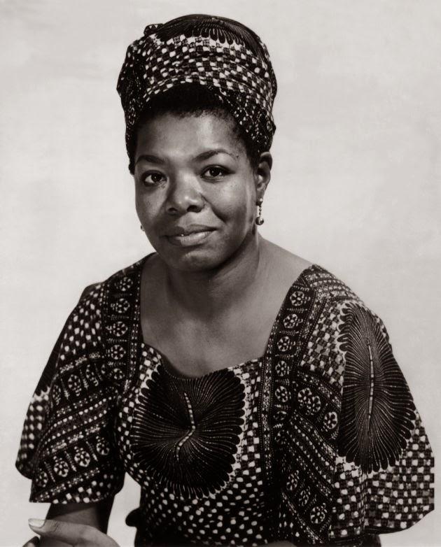 Maya Angelou - 1928 - 2014