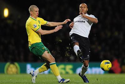 Norwich 0 - 2 Tottenham Hotspurs (2)