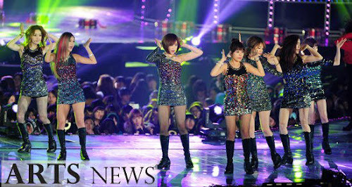 Foto Perform T-ara di Melon Music Awards 2012