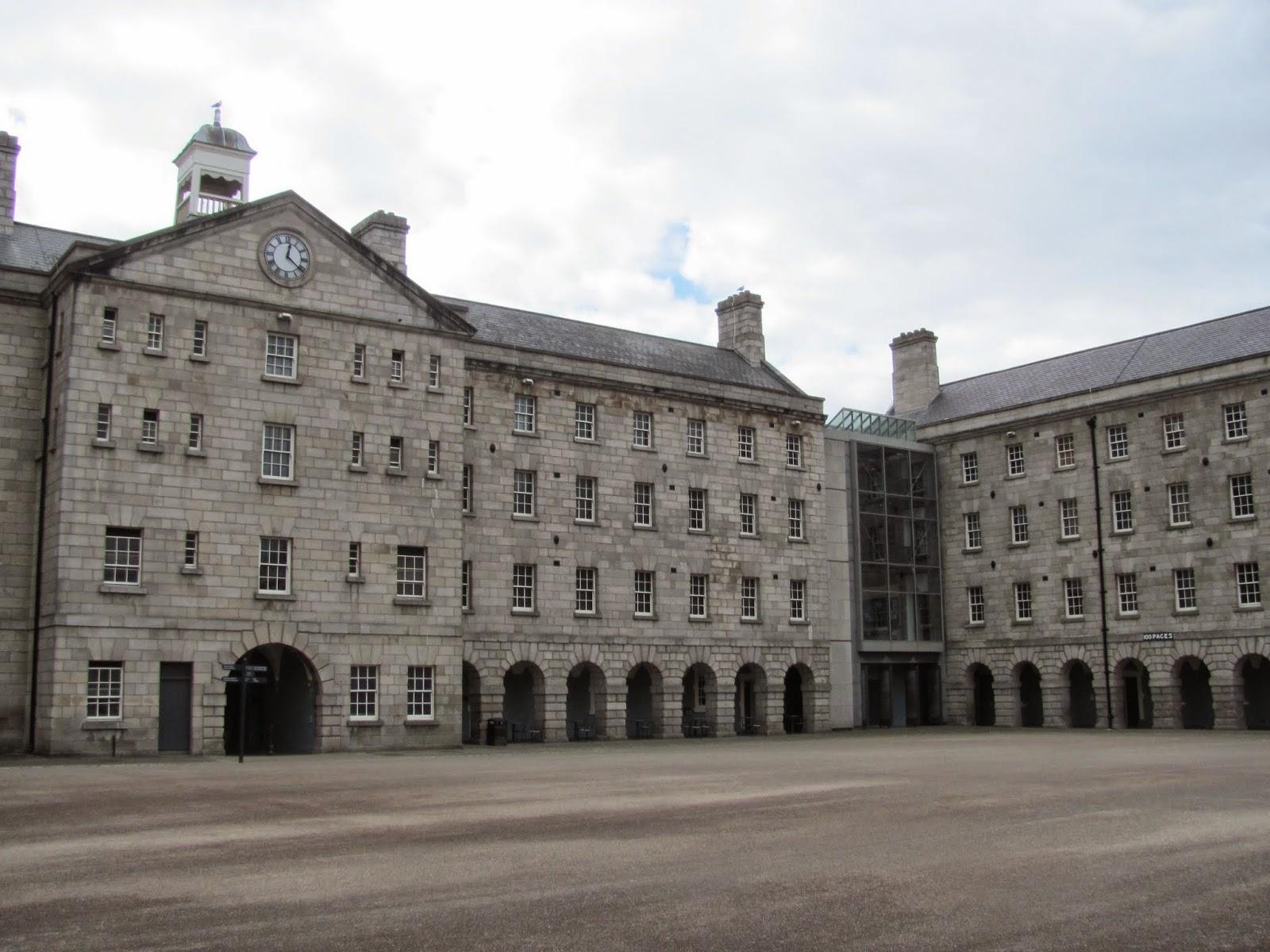 Collins Barracks Inner Courtyard