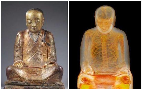GAMBAR Rahsia Yang Sangat Mengejutkan Tersembunyi Dalam Patung Buddha Ini