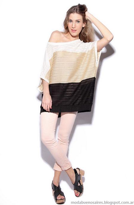 Moda verano 2013: Agostina Bianchi moda tejidos verano 2013