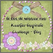 winnaar blauw -roze