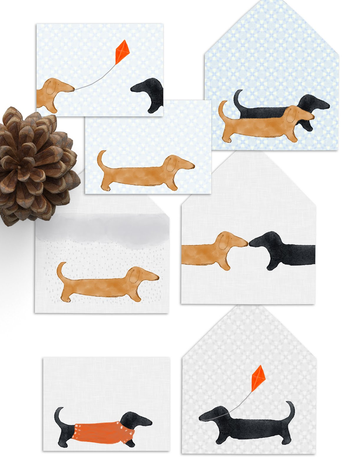 Dachsund Stationary PDF