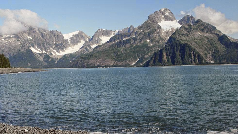 Northwestern Glacier (2004) - Photos of Alaska Then And Now. Get Ready to Be Shocked When You See What it Looks Like Now.