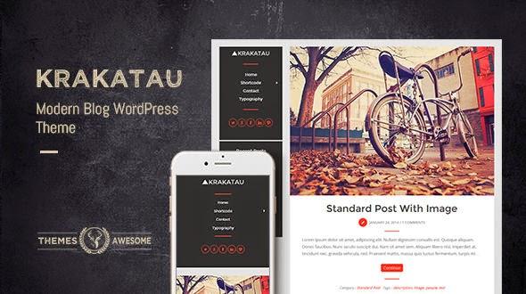 Krakatau - Modern Blog Theme