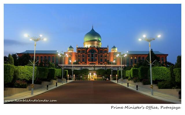 Prime Minister's Office, Pejabat Perdana Menteri, Putrajaya, Malaysia