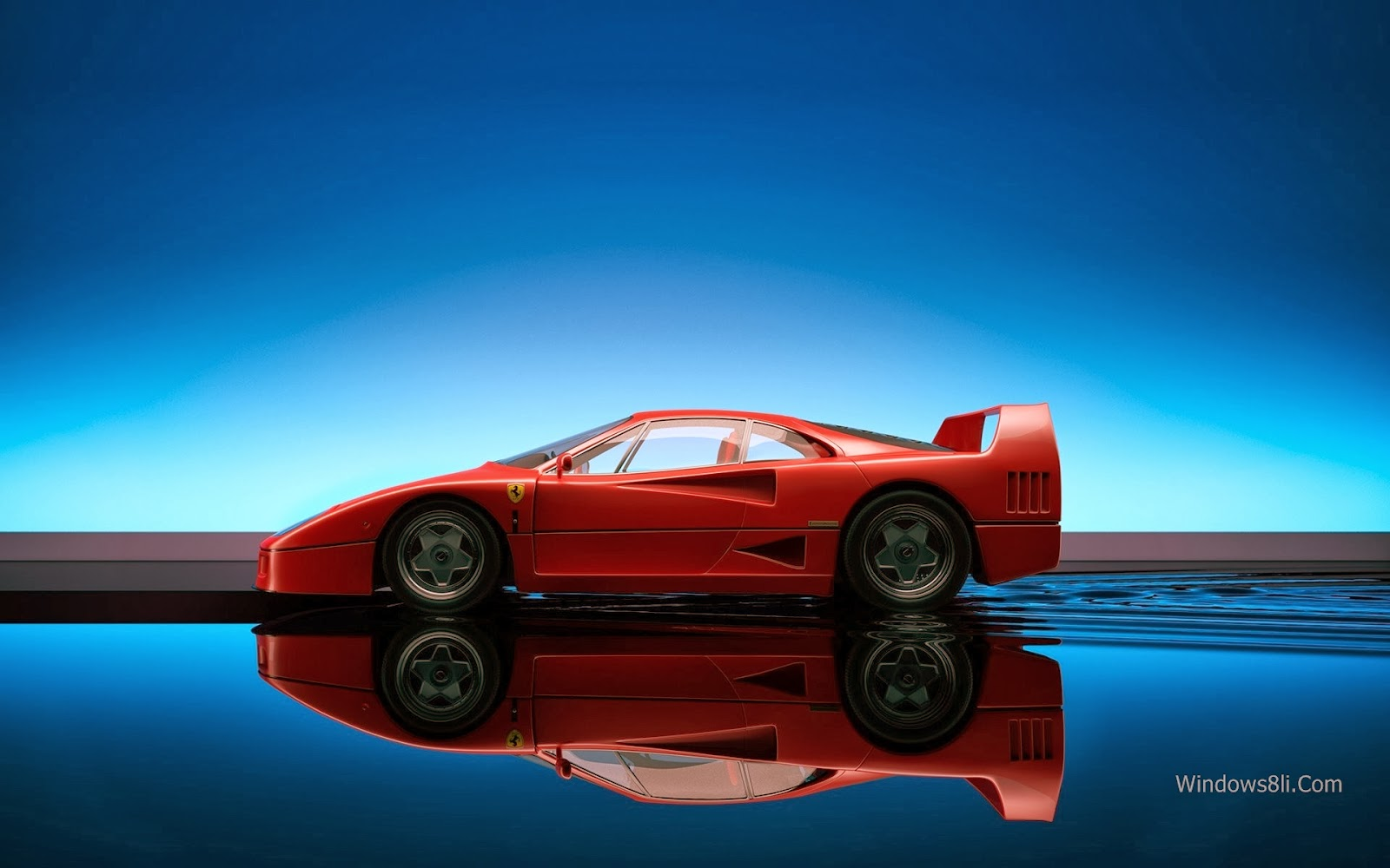 Ferrari Arka Plan
