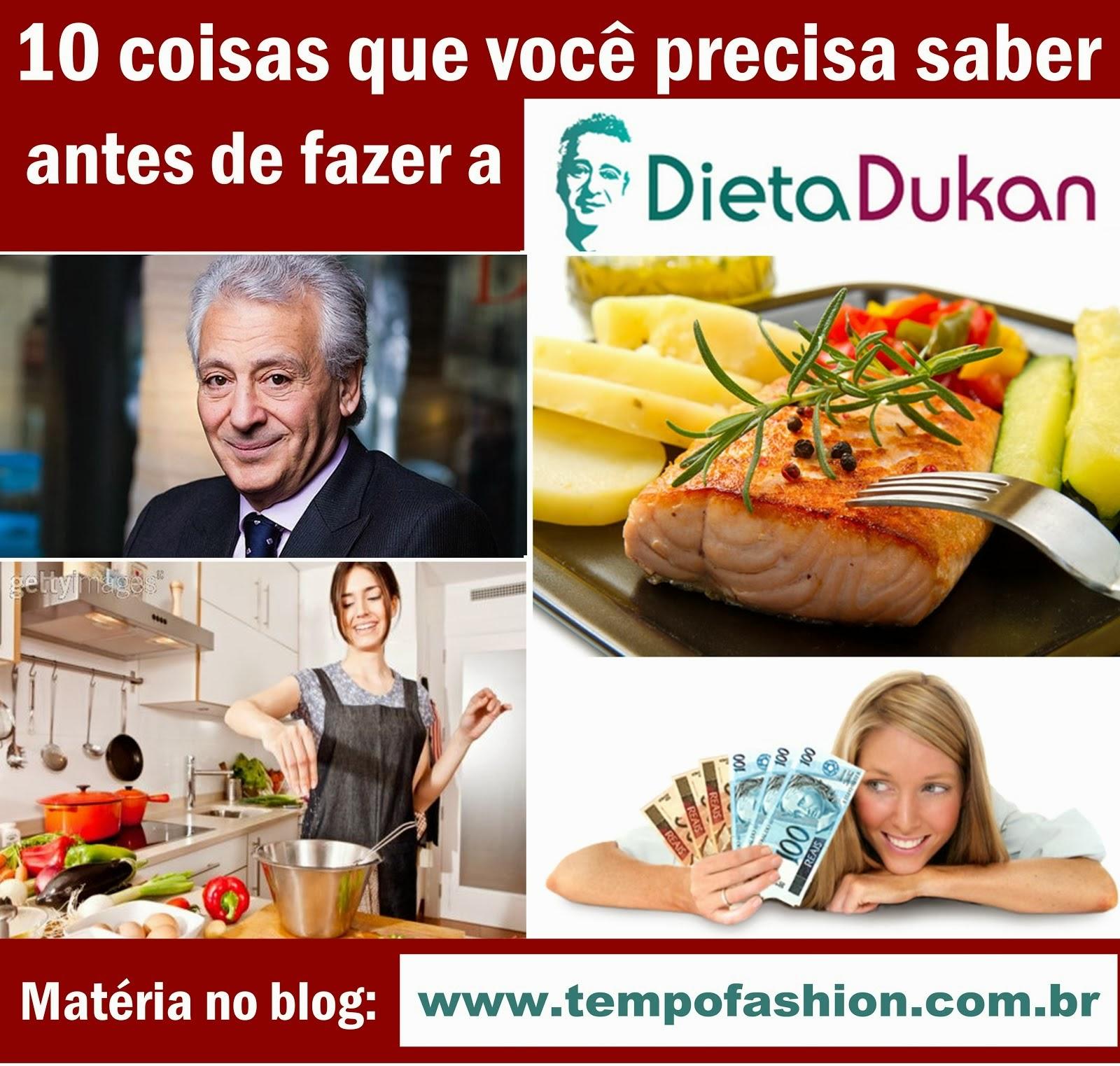 Dieta Dukan - se informe antes de fazer