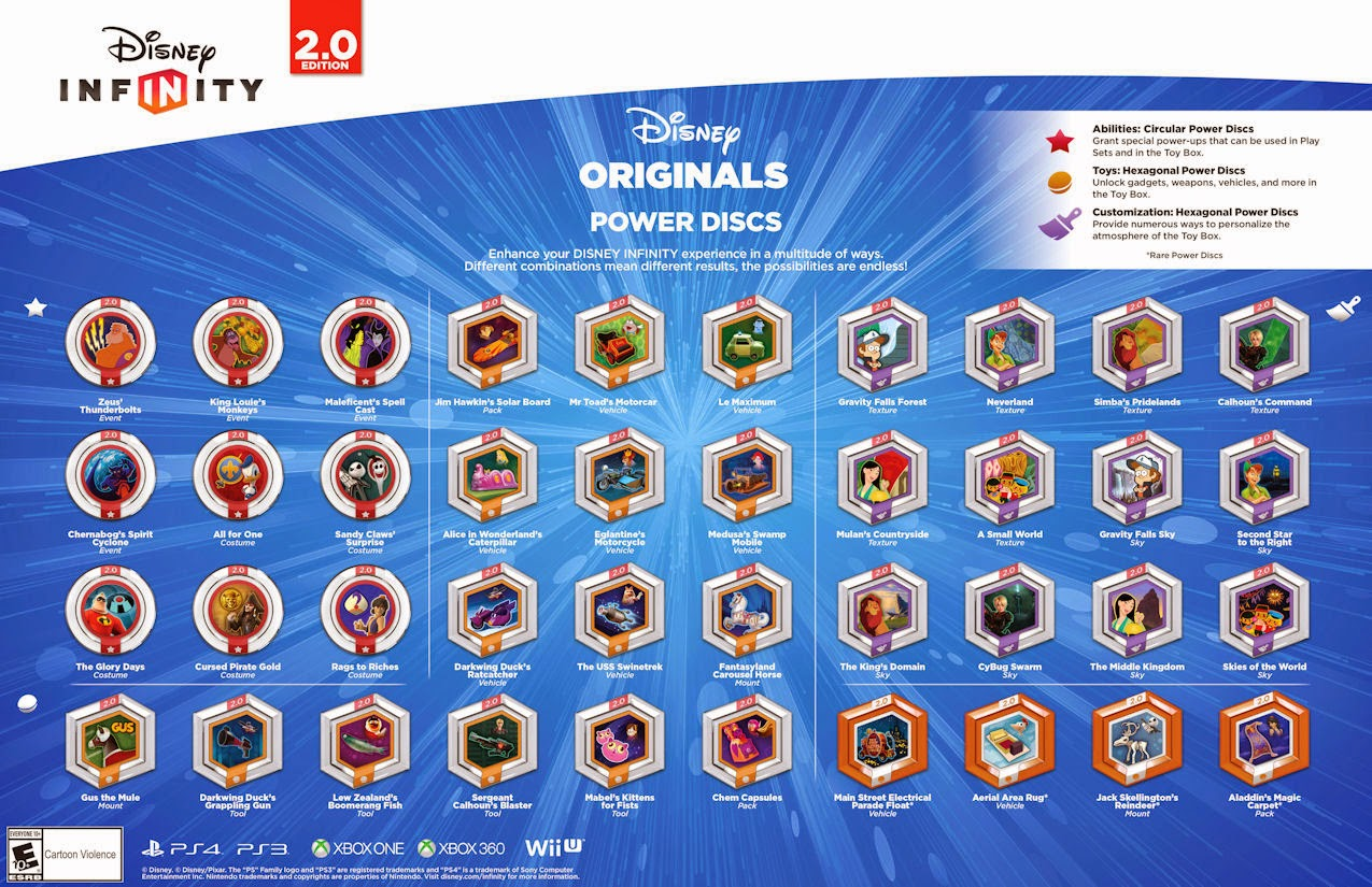 Disney Originals Power Discs