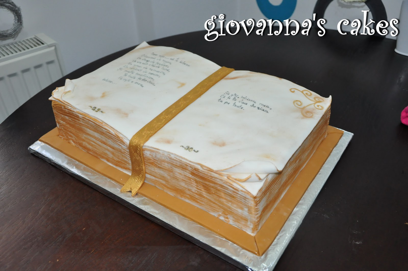 Open Book Cake Images : Stacysweets Open Book Cake Ideas and Designs