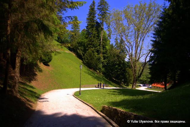 Дорожка к Тракошчану, Хорватия