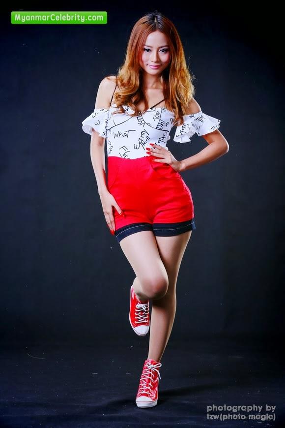 SExy Myanmar Model Shwe Yi Thone THone