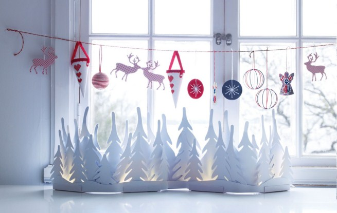 Новогодний декор дома своими руками фото
