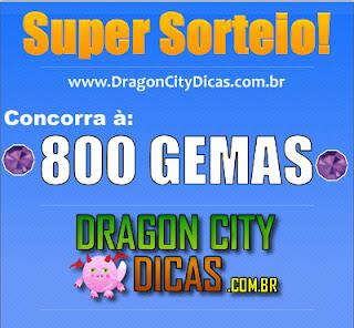 Super Sorteio - 800 Gemas - Participe!