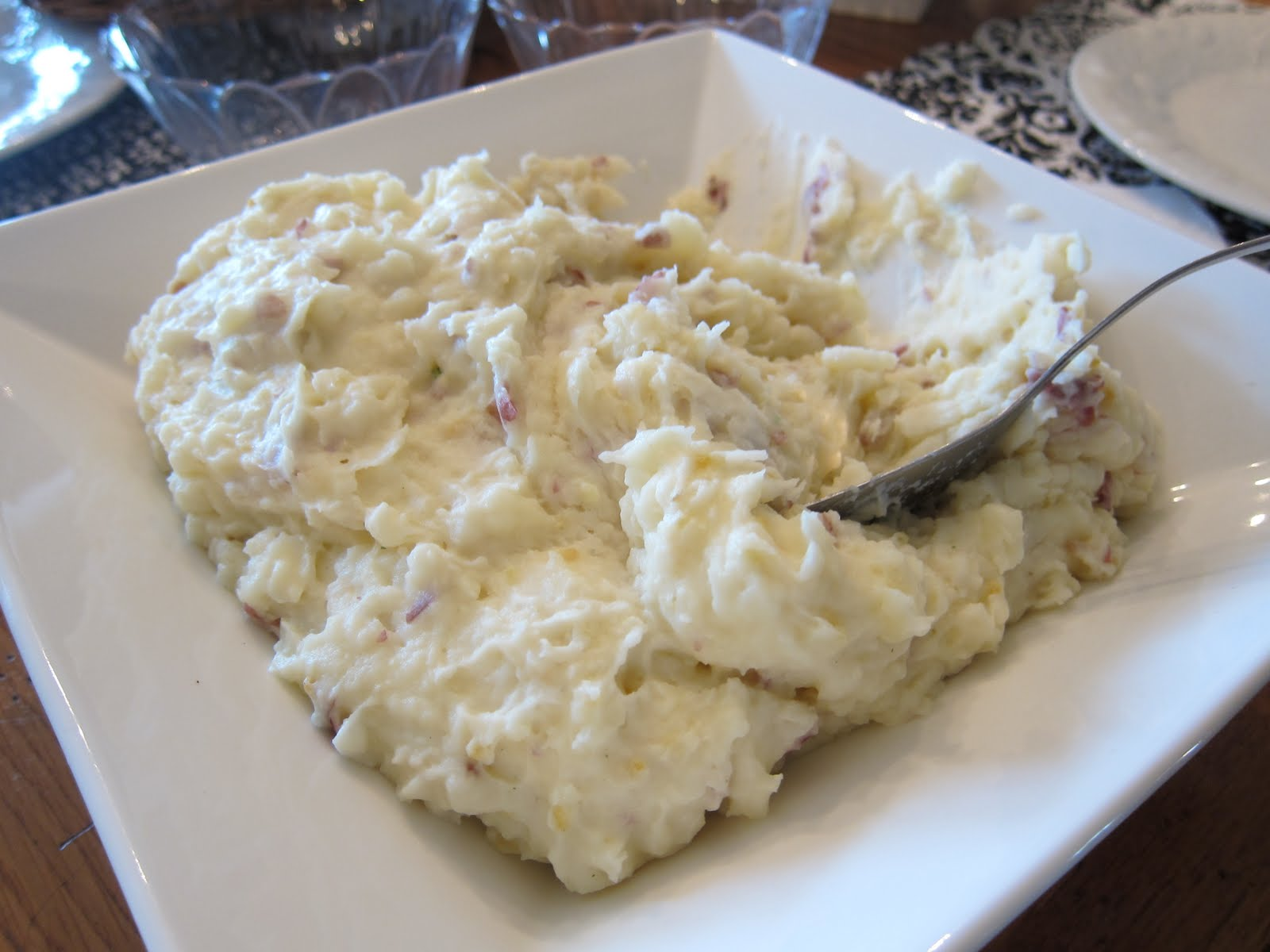 how to cook mashed potatoes with skin