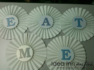 birthday decoration ideas pinwheel rosette white alice in the wonderland