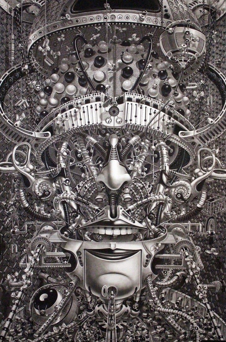 02-Decrypted-Savants-Samuel-Gomez-Massive-Detailed-Drawings-and-a-Guitar-www-designstack-co