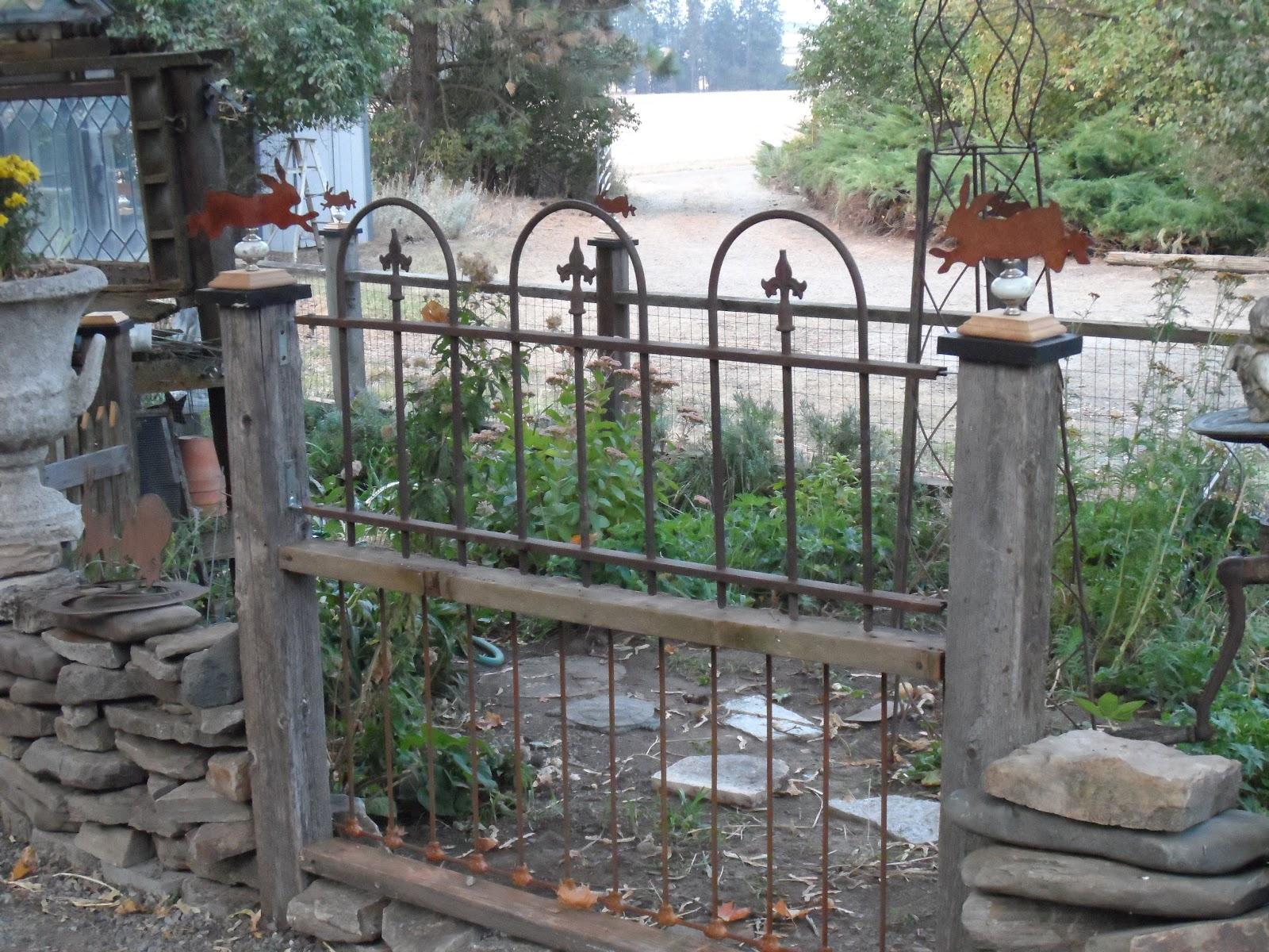 olderrose tour of funky garden makeover