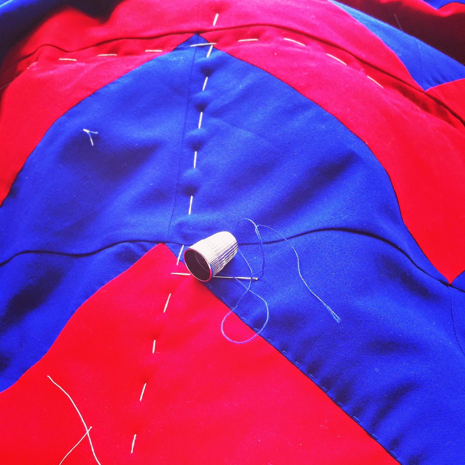 chevron baby quilt hickory ridge studio