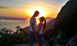 Quiero pasar todos los amaneceres junto a ti
