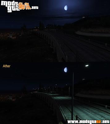 V - Mod Luzes da cidade v1 para GTA V PC