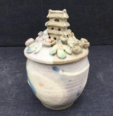 ミニチュア神亭壺 シュガーポット