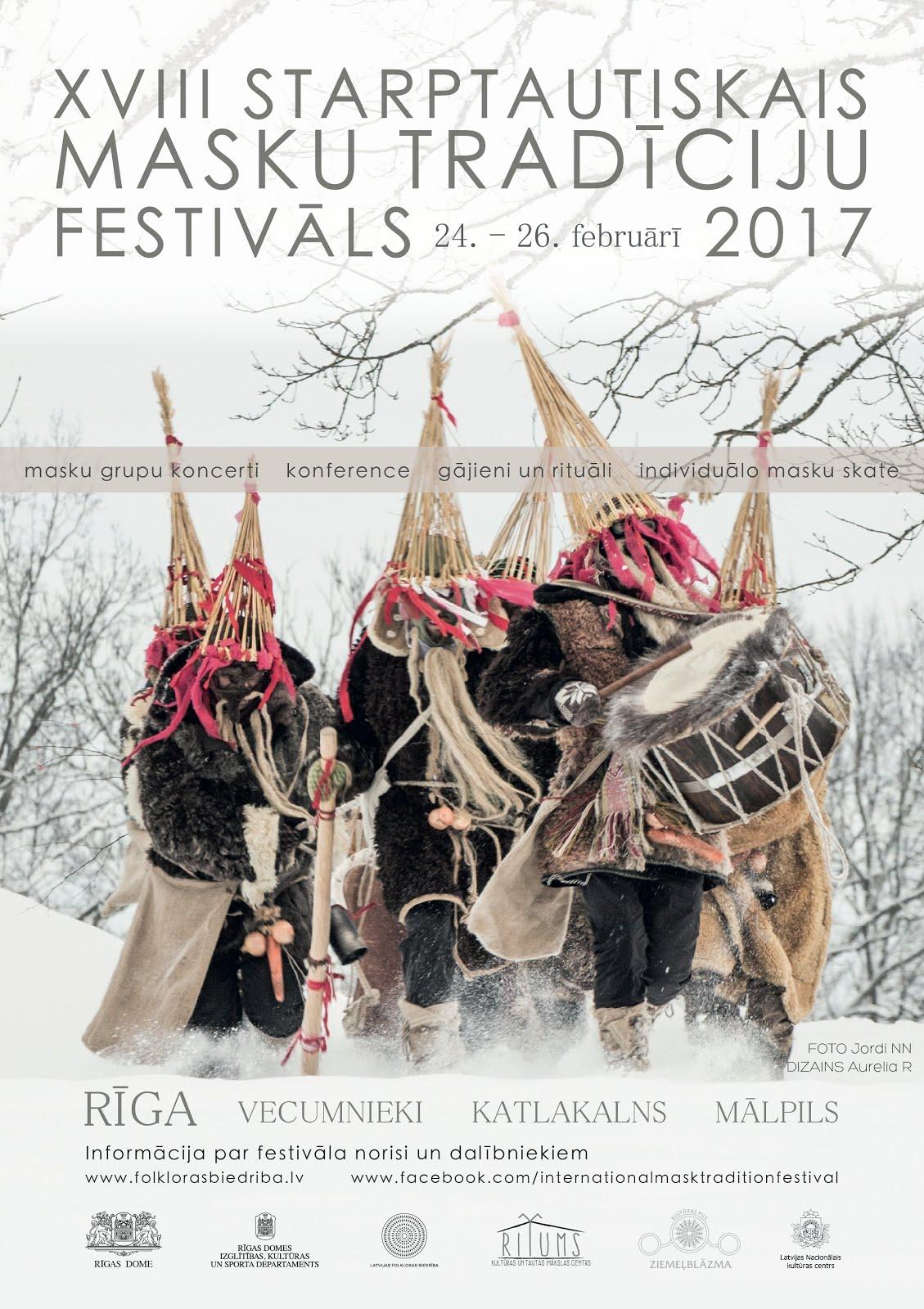 XVIII Starptautiskais masku tradīciju festivāls nāk