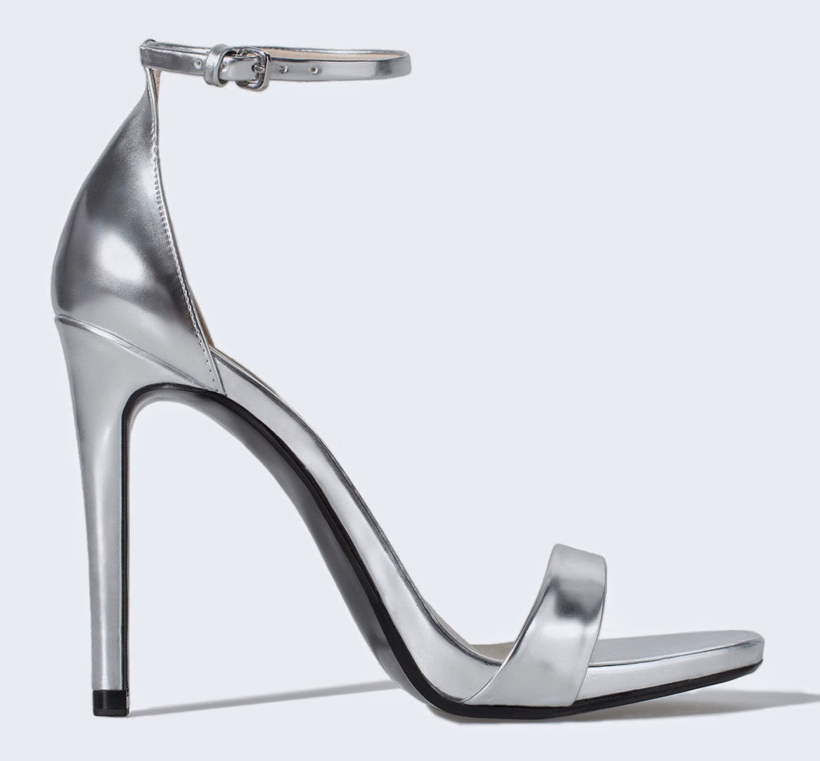 Zara metallic shoes price and pictures