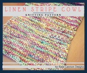 Linen Stripe Cowl