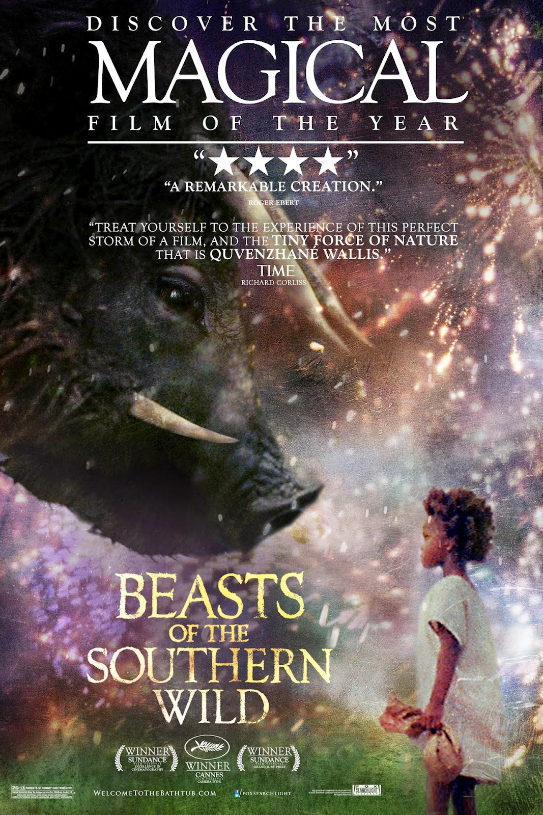 Afiche Beasts of the Southern Wild