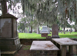 Graveyard in New Bern, North Carolina