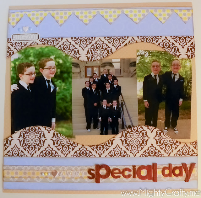 A Very Special Day - www.MightyCrafty.me