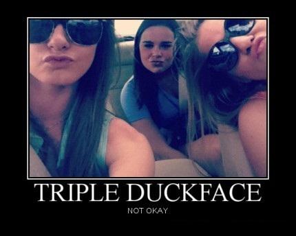 Rare - Triple DuckFace