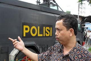 polisi razia ilegal harus dilapor dan dipecat