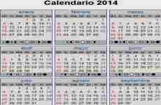 Calendario 2014: Time and Date permite generar calendarios para el año próximo