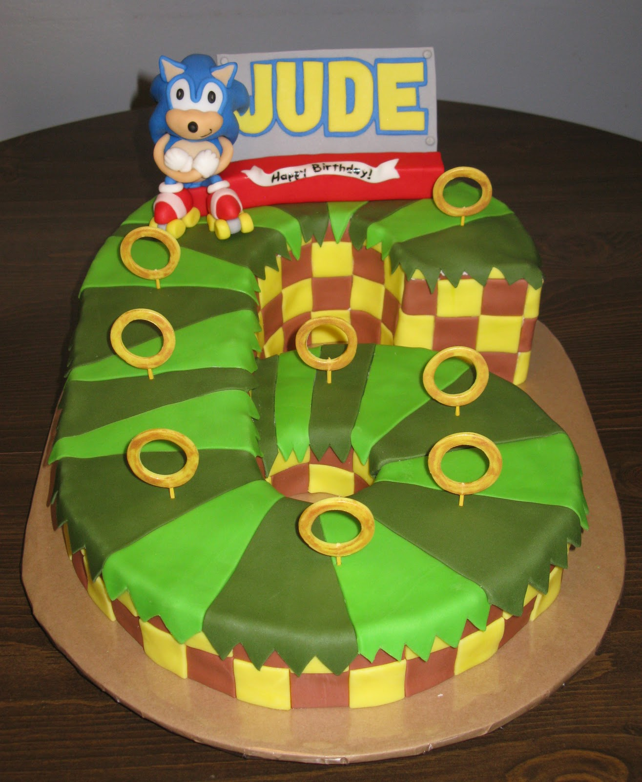 Wickd Cakes Sonic The Hedgehog