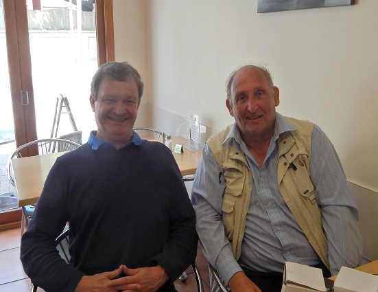 Colin Whittington and I met up in Drayton this week.