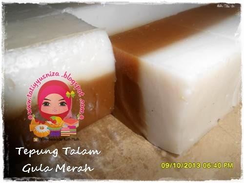 Talam Tepung Gula Merah
