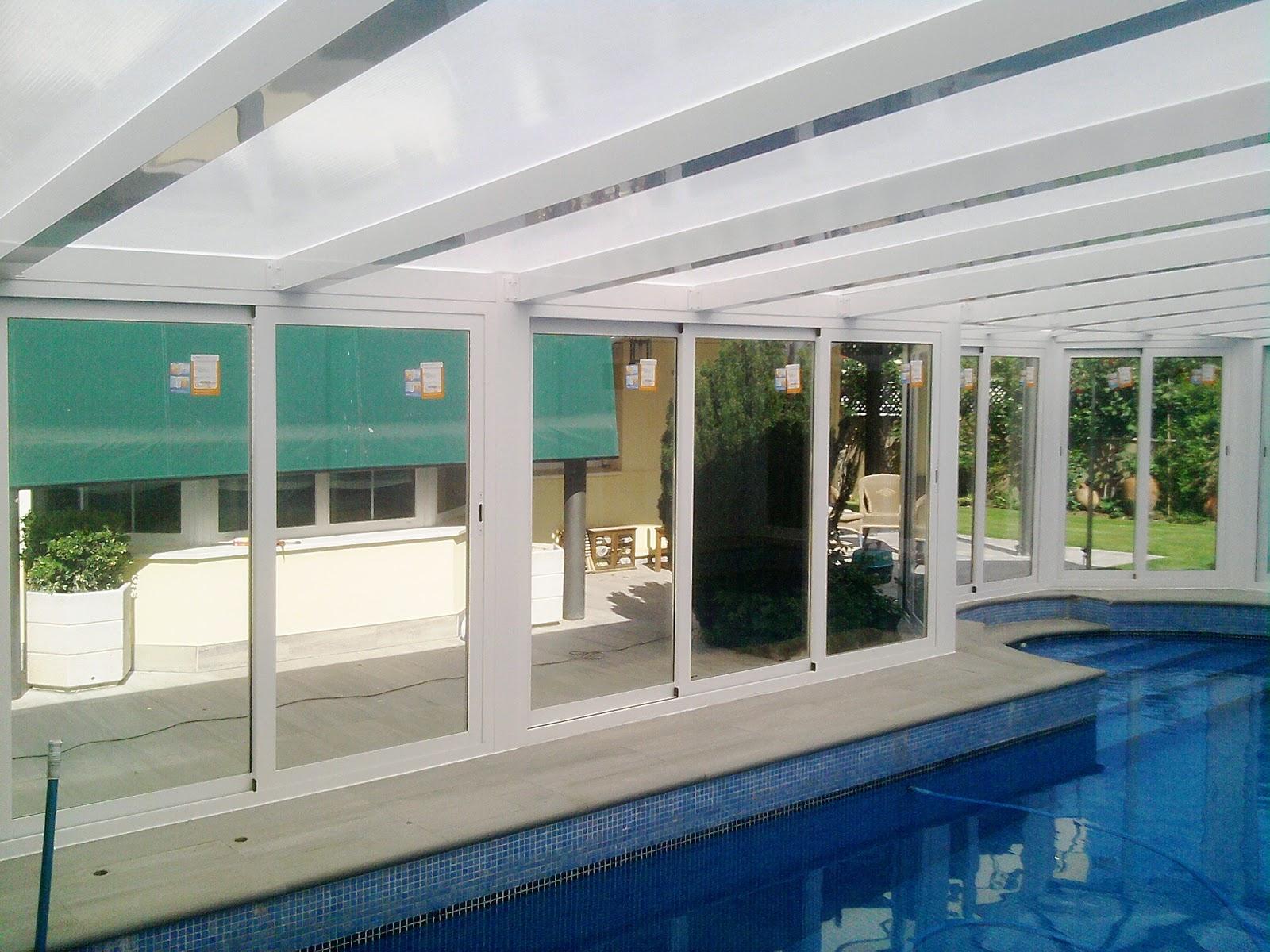 Cubiertas para piscina de comunidades trabajos en for Cubiertas de piscinas baratas
