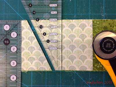 Creative Grids 2-1 Ruler - Tri Recs alternative