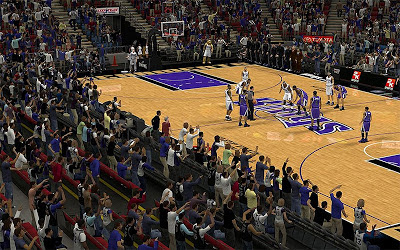 NBA 2K13 Sacramento Kings Stadium Crowd Fix