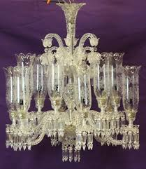Lampu kristal ruang keluarga